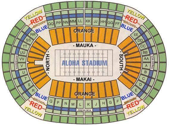 aloha stadium seating chart - Keni.ganamas.co